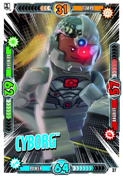 Nummer 37 | Cyborg